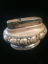 Vintage 40s Ronson Crown Silver-plated Desk Lighter image 6