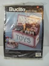 Bucilla Plastic Canvas Toy Chest Box Kit 1992 - $16.78