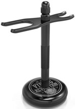 Black Safety Razor Stand - Razor Holder and Shaving Brush Stand to Prolong the L