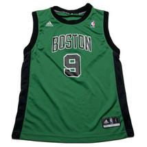Reebok Boys Youth Boston Celtics Rajon Rondo Alternate Green Black Jerse... - $29.63