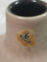 Ethnic Design Cream & Brown Pottery Vase  image 6