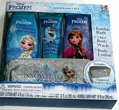 Disney Frozen Bath Basics Set with Zippered Toiletry Bag - $29.99