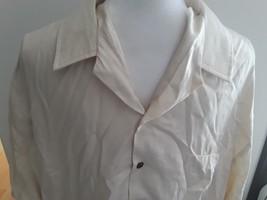 Kalaheo Hawaiian Aloha Shirt Size XL Made In Hawaii Cream Button Front R... - $29.65