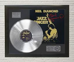 Neil Diamond - The Jazz Singer Framed Platinum LP Reproduction Signature... - $151.95