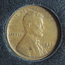 1920-S Lincoln Wheat Back Penny EF #990 image 3