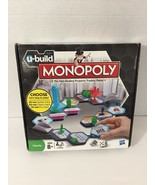 U-Build Monopoly Board Game Hasbro Pre-Owned Great Condition - $6.30