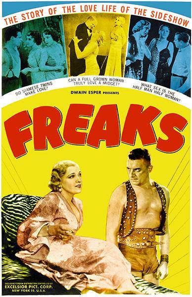 Primary image for Freaks - 1932 - Movie Poster