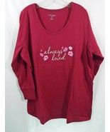 Dreams + Co 2 Piece Pajama Set Long Sleeve Shirt + Leggings Always Loved - $35.19