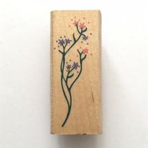 Rubber Stampede FLORAL FILLER Rubber Stamp Flowers Sprig Posh Impression... - $2.97