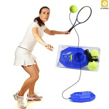 Baseboard Player Training Aids Practice Tool Tennis Ball Trainer Self-St... - $31.93