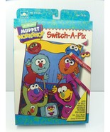 Golden Muppet Workshop Craft Kit Switch-A-Pix Jim Henson's Silly Picture... - $18.99