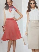 Burda Sewing Pattern 7069 Misses Ladies Skirt Size 8-20 New - $14.41
