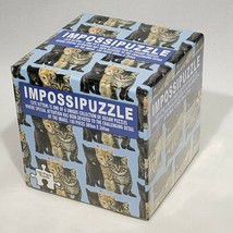 Impossipuzzle Cute Kittens Jigsaw Puzzle 100 Pieces Cats Funtime UK Sealed - $11.95