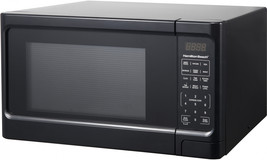 Hamilton Beach 1.1 Cu. Ft. Black Digital Microwave Oven - $1.370,65 MXN
