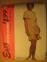 UNCUT Pattern 1992 EASY McCall SIZE Misses SM-MED T-Shirt SHORTS 5923 [Z25] - $3.99