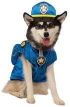 Rubies Paw Patrol Chase Police Officer Cop Dog Halloween Costume Pet 580212 - $20.76+