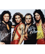 VAN HALEN (AUTOGRAPHED REPRO) POSTER 24 X 36 Inches Looks great - $19.94