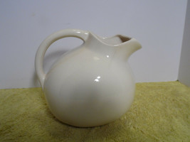 Vintage Pitcher Vase  Planter Cream  USA - $15.83