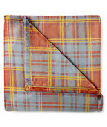 NWT PENNEY'S HARVEST PLAID Blanket Throw Print Oversized 50x70 Velvet Pl... - $28.96 CAD