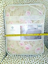 Simply Shabby Chic Duchess Blossom Twin COMFORTER Set Pink Tan  Cottage Floral image 7