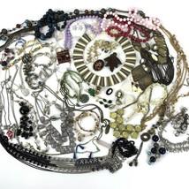 Costume Jewelry Lot Cameo Locket Boho Mod Metal Rhines Vtg To Modern 2+ ... - $32.66
