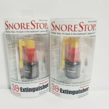 Lot of 2 SnoreStop Extinguisher 30 Oil Free Throat Spray Applications 60... - $15.83