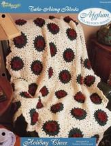 Holiday Cheer Afghan TNS Take Along Blocks Crochet Pattern/Instructions Leaflet - $3.12