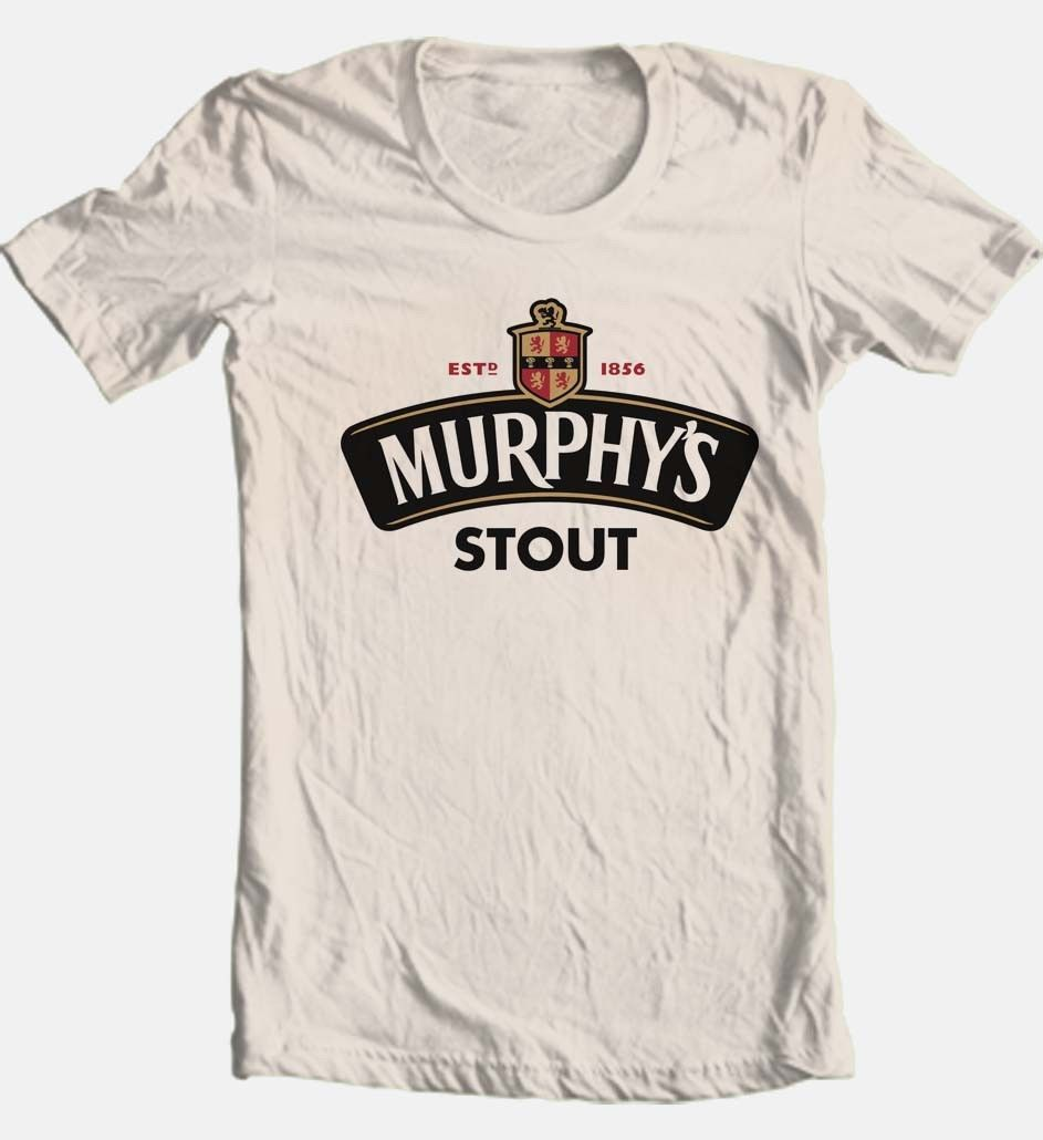 fa16d00a6 Murphys stout irish beer t shirt for sale online graphic tee shirt ireland  free shipping tan