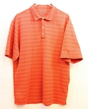 Nike Golf Fit Dry Orange Polo Size Large - $17.77