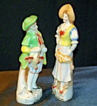 Pair of Hand painted Figurines AA-192055 Vintage Japan image 6