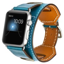 Replacement for Apple Watch Band iWatch Bands 38mm Genuine Leather Strap... - $29.60
