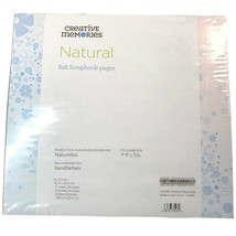 Creative Memories 8x8 True Size Refill Pages - Natural (8 x 8) - $19.95