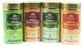 Organic India Tulsi Tea Original, Ginger, Green ,Masala Assam Darjeeling... - $10.48+