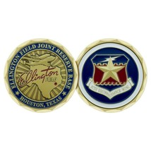 "ELLINGTON FIELD TEXAS JOINT RESERVE BASE AIR FORCE 1.75"" CHALLENGE COIN - $16.24"