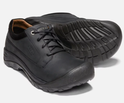 Keen Austin Size US 9 M (D) EU 42 Men's WP Lace Up Casual Shoes Black / ... - $102.85