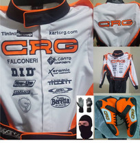 CRG Go Kart Race Suit CIK FIA Level 2 Approved Shoes with free gift Gloves - $210.99