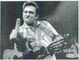 Johnny Cash MF Vintage 8X10 BW Country Music Memorabilia Photo - $4.99