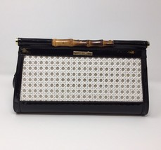 Anne Klein Earthly Delights Clutch, Black - $30.00