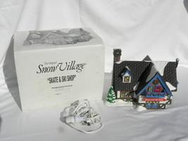 """1994 Dept. 56 Snow Village Christmas """"Skate and Ski Shop"""" Building #5467-4 - $29.99"""