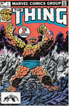The Thing Comic Book #1 Marvel Comics 1983 VERY FINE+ NEW UNREAD - $24.08
