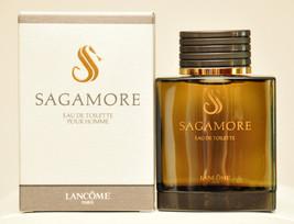 Lancome Sagamore Pour Homme Eau de Toilette Edt 100ml 3.4 Fl. Oz. Splash... - $420.00