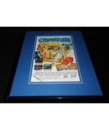 Crash Test Dummies 1993 NES Nintendo 11x14 Framed ORIGINAL Vintage Adver... - $32.36