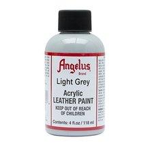 Angelus Acrylic Leather Paint-4oz.-Light Grey - $8.33