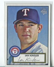 IAN KINSLER RC 2006 Topps '52 #149 Texas Rangers Baseball Sports Cards - $2.25