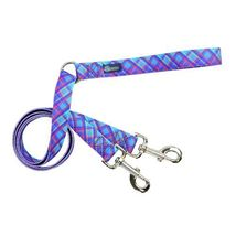 2Hounds Freedom No Pull Dog Harness Large Blue Plaid WITH Training Leash!   image 2