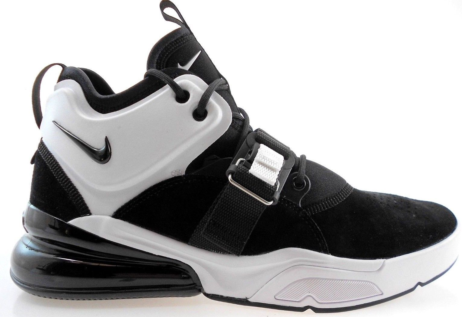 newest collection 90788 5df66 NIKE AIR FORCE 270 MENS BLACKWHITE SHOES, AH6772-006 - 119.99
