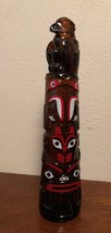 Vintage Avon After Shave Totem Pole Decanter Bottle - $5.00