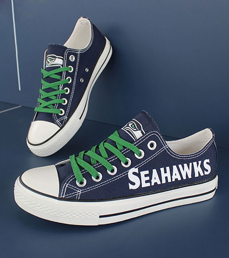 e7decf7395e778 Seahawks 1. Seahawks 1. Previous. Seahawks shoes women seahawks sneakers  converse style tennis shoe seattle fans