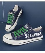 Seahawks shoes women seahawks sneakers converse style tennis shoe seattl... - $59.99