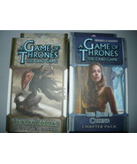 A Game of Thrones chapter pack lot of 2 trial by combat the blue is call... - $10.98